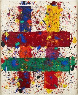 Sam Francis Abstract Monotype 1979