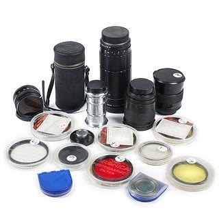 Grp: Camera Lenses - Zeiss Jhagee Schneider