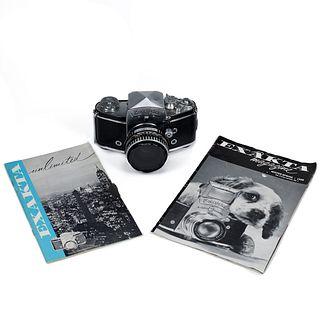 Exacta VXIIa Camera Body & Magazine