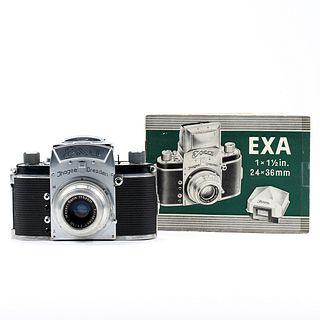 EXA 35mm Camera Body & Booklet