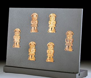 Chimu Copper Appliques, Lords Holding Keros