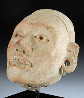 Huastec Terracotta Head - Naturalistic Form