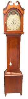 Pennsylvania Federal Tall-Case Clock ca. 1800's