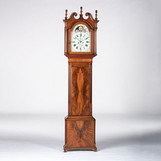 A Mahogany Tall Case Clock
