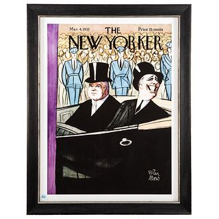 Peter Arno. The New Yorker Cover, lithograph
