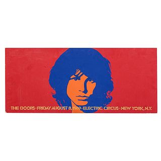 The Doors, Electric Circus Concert Poster