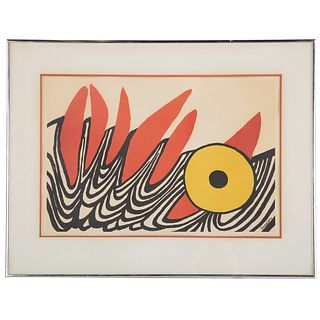 "Alexander Calder. ""Tapestry,"" exhibition poster"