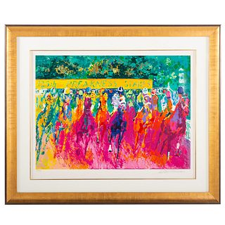 """LeRoy Neiman. """"125th Preakness Stakes,"""" serigraph"""