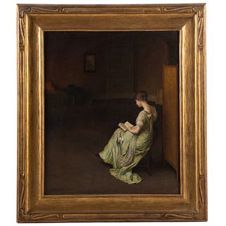 Alice Ruggles Sohier. Solitude, oil on canvas