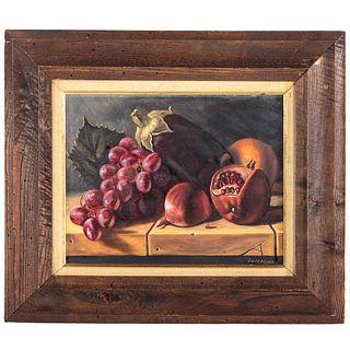 David Zuccarini. Still Life with Pomegranate, oil