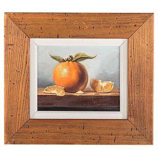 David Zuccarini. The Orange, oil