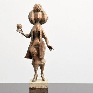 Milton Hebald Bronze Figural Sculpture