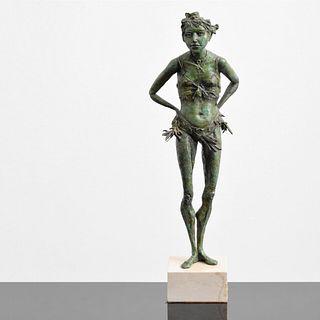 Rhoda Sherbell Bronze Figural Sculpture