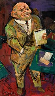 William Gropper Painting