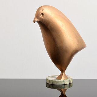 Paul von Ringelheim Bronze Bird Sculpture