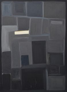 Augusto Barros Abstract Painting