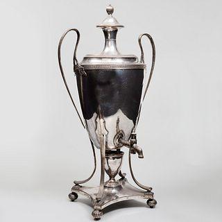 Sheffield Plate Hot Water Urn