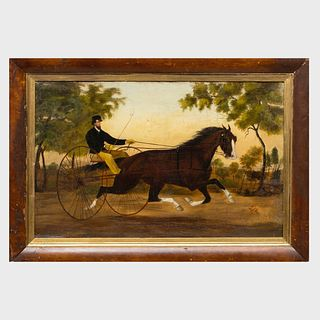 American School: Horse and Rider