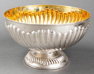 Greggio Rino Italian Silver Centerpiece Bowl