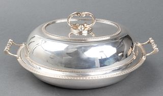 Cartier Sterling Silver Covered Vegetable Dish