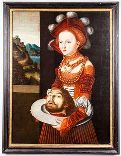 After Lucas Cranach the Elder Oil on Canvas