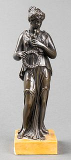 Grand Tour Bronze Sculpture of Aphrodite, 19th C.