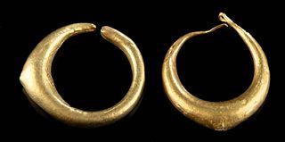 Roman Gold  Earrings (pr)