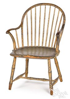 Philadelphia bowback Windsor armchair