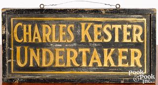 Montgomery County, Pennsylvania painted trade sig