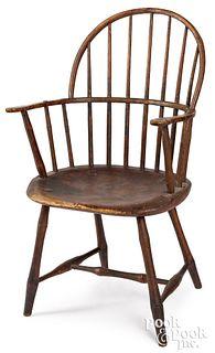 Sackback Windsor armchair, ca. 1810