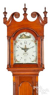 Johann Samuel Krause tall case clock