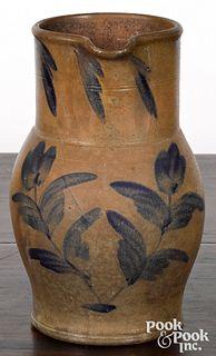 Mid Atlantic stoneware pitcher