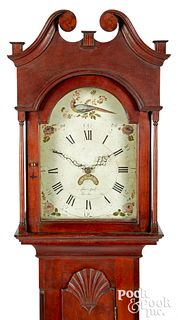Pennsylvania cherry tall case clock
