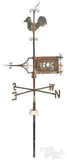 Pennsylvania wrought iron and copper weathervane