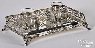 New York sterling silver standish