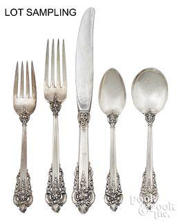 Wallace Grand Baroque sterling silver flatware