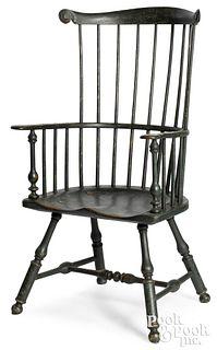 Peter Deen combback Windsor armchair