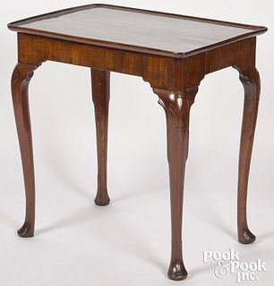George II mahogany tea table, ca. 1760