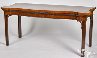 Large George III mahogany server, ca. 1770