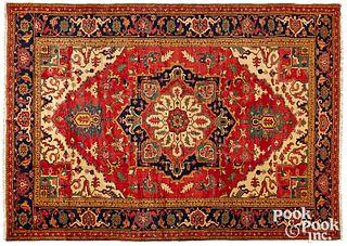 Contemporary Heriz style carpet