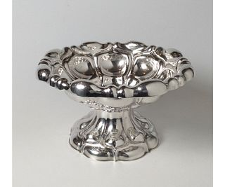 European Sterling Silver Footed Bowl