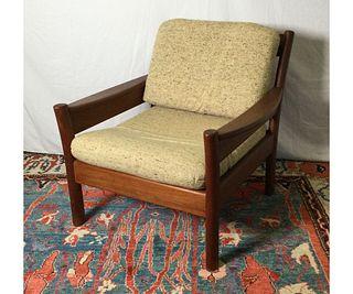 Mid Century Teak Chair by Dyrlund