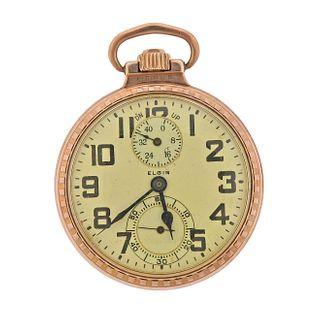 Antique Elgin B. W. Raymond Pocket Watch