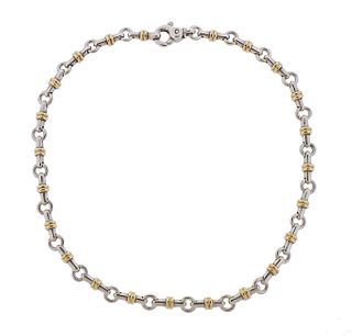 Tiffany & Co Sterling Silver Link Necklace