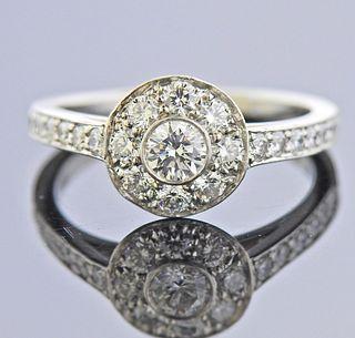 Tiffany & Co Circlet Platinum Diamond Ring