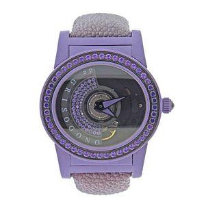 De Grisogono Tondo by Night Amethyst Purple Watch 004507 1110700