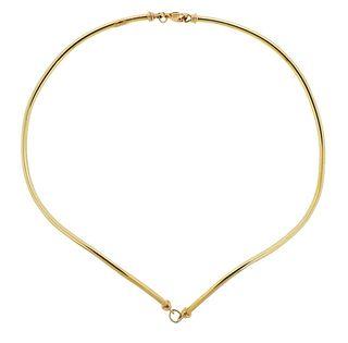 Tiffany & Co 14k Gold Necklace