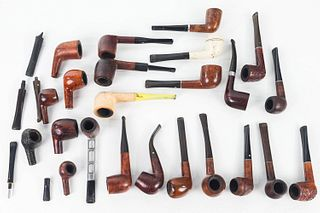 Collection of Briar and Other Pipes