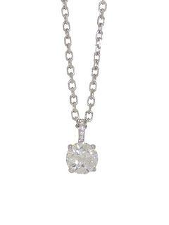 Cartier 1.05ct Diamond Pendant Retail $38,000