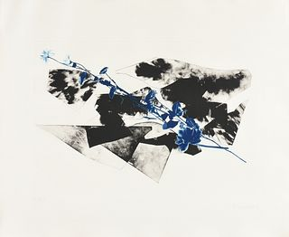 "JANNIS KOUNELLIS (Greek/Italian 1936-2017) A PRINT, ""Untitled (Image D),"" FROM THE SERIES, ""Frammenti di Danza,"" 1982,"